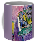 Green Piano Side View Coffee Mug