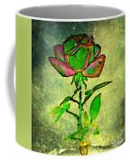 Green Rose Coffee Mug
