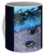 Green Sea Turtle Honu Coffee Mug