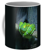 Green Snake Coffee Mug