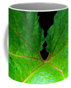 Green Spider Leaf Coffee Mug
