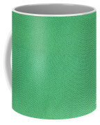 Green Textile Coffee Mug