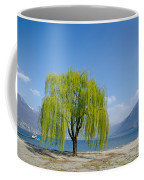 Green Tree Coffee Mug