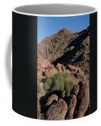 Green Tuft In Sandstone Coffee Mug