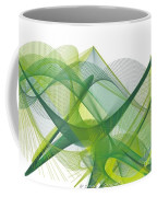 Green Waves Coffee Mug