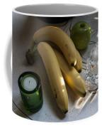 Green Yellow White Light Coffee Mug