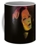 Greta Garbo Pop Art Coffee Mug