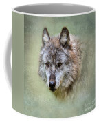 Grey Wolf Portrait Coffee Mug