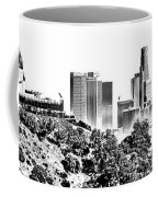 Griffith And Los Angeles Etched Coffee Mug
