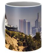 Griffith And Los Angeles Coffee Mug