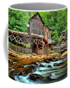 Grist Mill At Babcock Coffee Mug