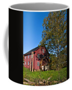 Grist Mill Painted Coffee Mug