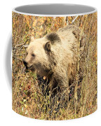 Grizzly In The Brush Coffee Mug