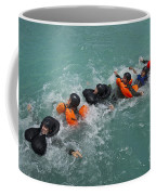 Group Swimming Technique During A Water Coffee Mug