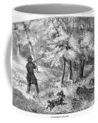 Grouse Hunting, 1855 Coffee Mug