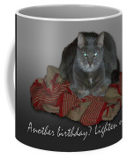 Grumpy Cat Birthday Card Coffee Mug