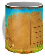 Grunge Color On Old Postcard Coffee Mug by Setsiri Silapasuwanchai