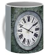 Grungy Clock Coffee Mug