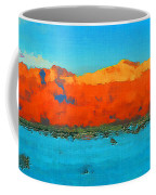 Guadalupe Mountains Sunset Coffee Mug