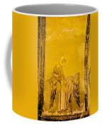 Guardian Angel Byzantine Art Coffee Mug by Artur Bogacki