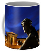 Guardian Angel Of Art Coffee Mug by Paul Ward