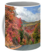 Guardsman Pass To Midway In The Fall - Utah Coffee Mug