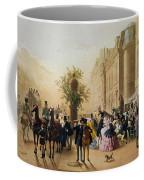 Guerard: Cafe Tortoni, 1856 Coffee Mug