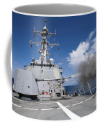 Guided-missile Destroyer Uss Pinckney Coffee Mug