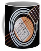 Guitar Abstract 1 Coffee Mug