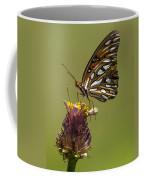 Gulf Fritillary Butterfly - Agraulis Vanillae Coffee Mug