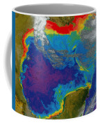 Gulf Of Mexico Dead Zone Coffee Mug by Science Source