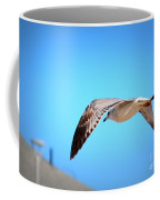 Gull On The Wing Coffee Mug