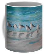 Gulls On Beach Coffee Mug