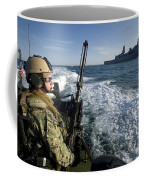Gunner Mans A .50-caliber Machine Gun Coffee Mug