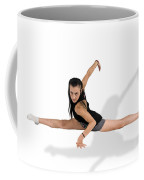 Gymnast Does The Splits  Coffee Mug by Ilan Rosen