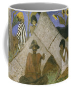 Gypsy Encampment Coffee Mug by Otto Muller or Mueller