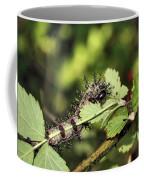 Gypsy Moth Larva Chomp Coffee Mug