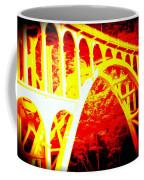 Haceta Head Bridge In Abstract Coffee Mug