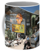 Hackberry Signs   Arizona Route 66 Coffee Mug
