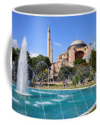 Hagia Sofia In Istanbul Coffee Mug by Artur Bogacki