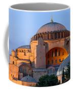 Hagia Sophia At Dusk Coffee Mug by Artur Bogacki