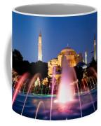 Hagia Sophia At Night Coffee Mug by Artur Bogacki