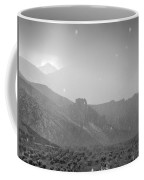 Hail Storm In The Mountains Coffee Mug