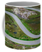 Hairpin Bends In The, Healy Pass, Beara Coffee Mug