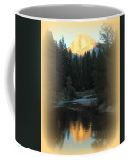 Half Dome At Sunset Coffee Mug