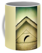 Half Moon On Rurual Outhouse Coffee Mug