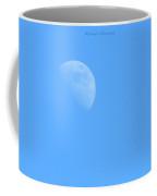 Half Pearl In Blue Coffee Mug