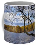 Hall Lake In Autumn No 0118 Coffee Mug