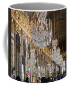 Hall Of Mirrors At Palace Of Versailles France Coffee Mug