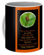 Halloween Card - Spider And Poem Coffee Mug